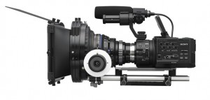 The Sony NEX Fs 100